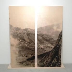 長島有里枝の個展「B&W」へ