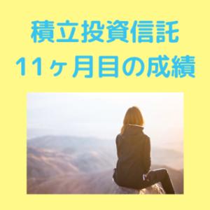 【積立インデックス投資実績】11か月目の運用成績公開!eMAXIS Slim 全世界株式(除く日本)の運用結果は?