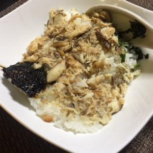 炙り焼き鯖御飯