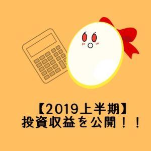 【2019上半期】投資収益を公開!!