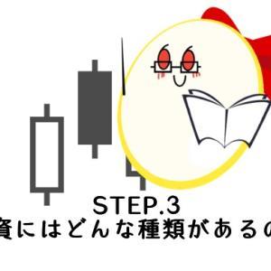 STEP.3【投資にはどんな種類があるのか】
