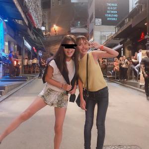 アメリカ育ちの友人とデート