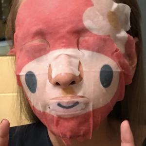 マイメロのフェイスマスクを購入したら予想外の事態が起きました。