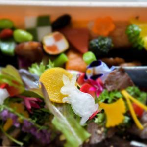 日本料理店のテイクアウト弁当