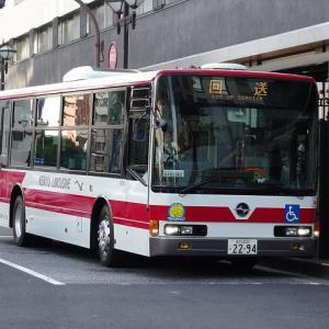 【撮影記】京浜急行バス/三菱ふそう・エアロスターMPノンステップバスを撮る