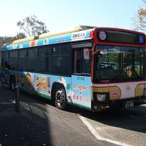【撮影記:11/10】わくわくフェスティバルの「西東京バスコーナー」の「展示車両バス」を撮る