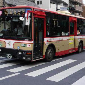 【撮影記】西東京バス/三菱ふそう・エアロミディMKノンステップバスを撮る