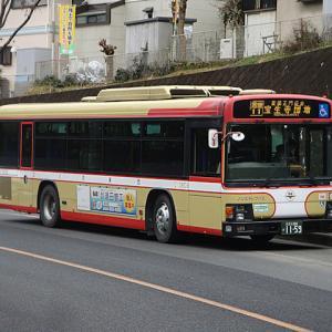 【撮影記】西東京バス/いすゞエルガノンステップバスを撮る