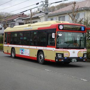 【撮影記】西東京バス/日野ブルーリボン・ハイブリッドノンステップバスを撮る