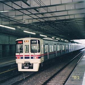 【19年前】京王9000系+6000系の混結編成の「準特急・新宿(行)」