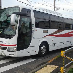 【撮影記】西東京バス/三菱ふそう・エアロエース(ハイデッカー)の「中央高速バス」を撮る