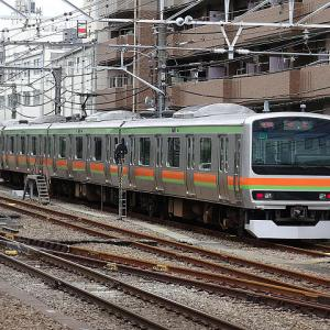 【撮影記】JR中央(快速)線/「E257系500番台」の臨時「特急・富士回遊号」を「高尾」で撮る