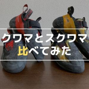 【レビュー】スクワマの新色はイエローモデルと何か違うのか?履き比べて検証してみた!