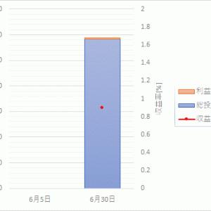 つみたてNISA運用成績【1ヵ月目】