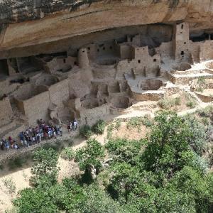 【遺跡】メサ・ヴェルデ 断崖の集落遺跡⁉