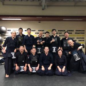 マニラのマニラ剣道クラブの稽古に行ってきました