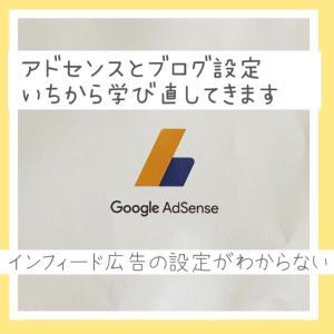 はてなブログでインフィード広告の設定どうやるの?アドセンス合格後もGoogle先生に振り回され続ける日々、、、
