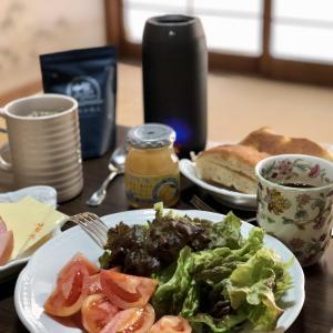 別宅の朝食(1) #スドージャム #松本市