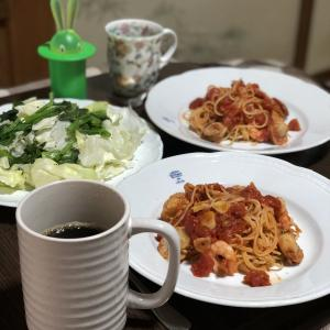 別宅の昼食(1)#おうちごはん #松本市