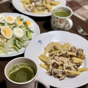 別宅の夕食(3)#おうちごはん #塩玉子 #松本市