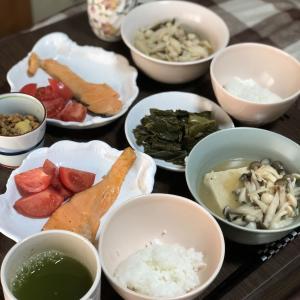 別宅の朝食(3) #おうちごはん #信州産 #松本市