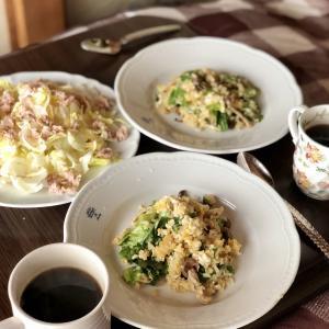 別宅の昼食(2)#おうちごはん #野良坊菜 #アンパン
