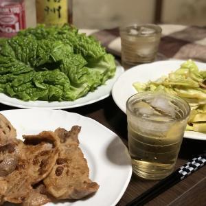 別宅の夕食(4)#おうちごはん #生姜焼 #松本市
