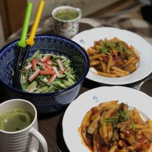 別宅の夕食(6)#おうちごはん #信州産 #松本市