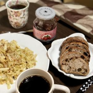 別宅の朝食(7) #おうちごはん #松本市