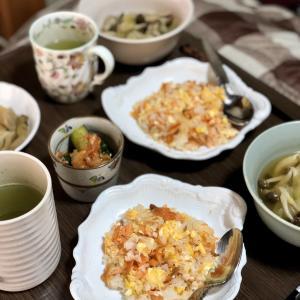 別宅の朝食(14) #おうちごはん #信州産 #松本市
