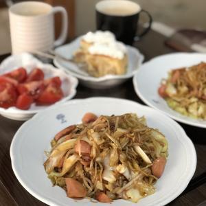 別宅の昼食(8)#おうちごはん #マルちゃん焼そば #松本
