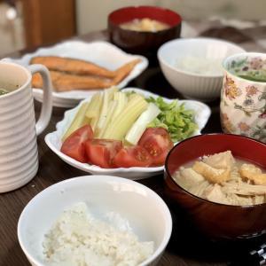 別宅の朝食(15) #おうちごはん #信州産 #松本市