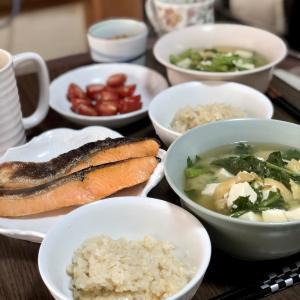 別宅の朝食(1) #おうちごはん #信州産 #松本市