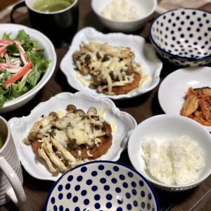 別宅の夕食(9)#おうちごはん #大豆肉 #松本市