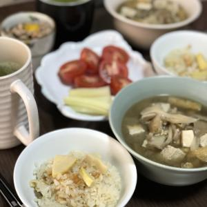 別宅の朝食(10)・昼食(6)・夕食(10) #松本市