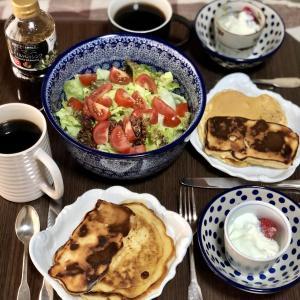 別宅の朝食(11)#おうちごはん #信州産 #松本市