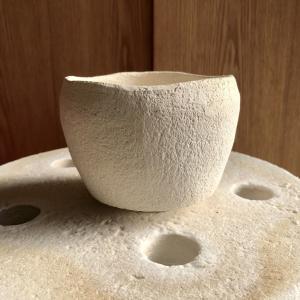 楽茶碗《19》 削り〜素焼 #陶芸 #楽焼 #楽茶碗