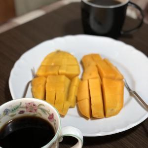 別宅の朝食(24)・昼食(15)・夕食(23) #マンゴー