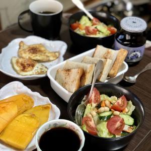 別宅の朝食(25)・昼食(16)・夕食(24) #マンゴー