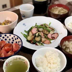 別宅の朝食(26)・おやつ&夕食(25)#信州産 #菊芋