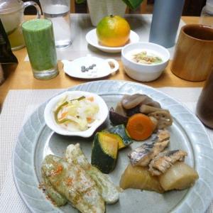 たがね餅、黒そいと大根に漬けで朝ごはん♪水戸斎藤ウナギ店で慰労会を・・