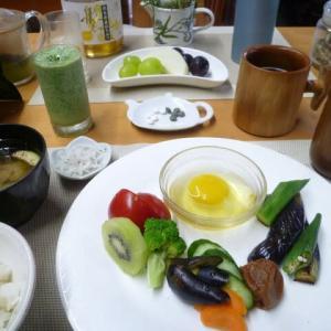 新米の卵かけご飯で朝ごはん♪久しぶりの卵かけご飯、美味しかった!