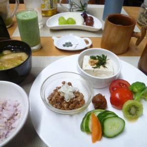 昔懐かし手作り豆腐で和食の朝ごはん♪