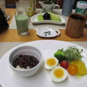 小豆もちで朝ごはん♪栄養も食物繊維も豊富!