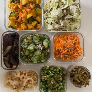 ワーママ時短家事⭐︎週末常備菜作り