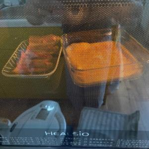 ヘルシオ☆自動調理で朝ごはん