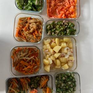 ワーママ時短家事☆常備菜作りと自家製冷凍食品