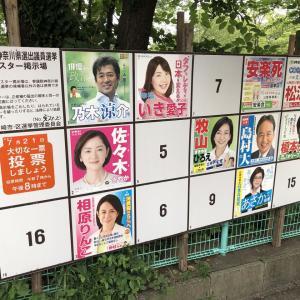 第25回参議院議員選挙