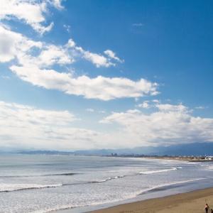 息子と海岸を散歩したあとは…タメにならないブログ論でも書いてみる!