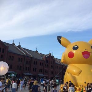2019年ピカチュウ大発生中 横浜【お盆休み】